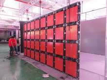 China manufacturer P10 outdoor biggest screen Die-casting LED display cabinet
