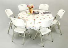 plastic folding tables and chairs for events(SY-122ZY)