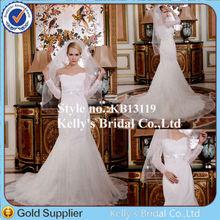 2014 Royal new modern design sweetheart neckline guangzhou dailisha wedding dress firm