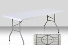 6ft plastic meeting folding table