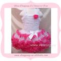 hermosa la venta caliente de color melocotón vestidos de novia