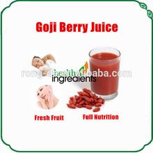 100% natural organic goji juice brix 15% Goji Concentrated Juice