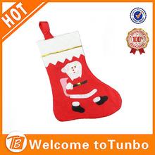 2014 Fashion design christmas stocking cheap price christmas stocking