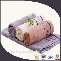 wholesale 100 cotton jacquard bamboo fiber face towels fabric