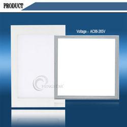 aluminum+PMMA Ra75 white color led panel,22w led panel light