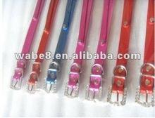New! Hot selling pet collars.Metallic dog leashes.
