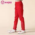 elástico da cintura long calças crianças para o outono e inverno de fabricação na china