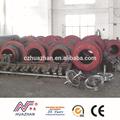 máquina para produção de tubos de concreto