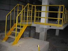 corrosion resistant frp handrail