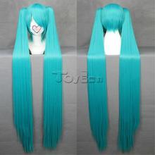 New 120cm Vocaloid Miku Hatsune Wig Fashion Cosplay Wig