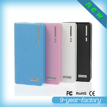 Dual USB wallet power bank for digital camera