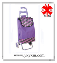 2014 shopping trolley bag in purple color