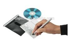 Hanging CD/DVD Plastic Refill Sleeves for Aluminum Cases, Media Storage Cases 100pcs/pack