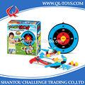 Deporte juguetes juguetes de los niños de ballesta arco y flecha con blanco