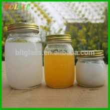 300ml 500ml 1000ml Round Mason Glass Jar Canning Fruit Glass Jars