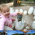 بلدي باركدينو-- أطفال اللعب الألياف الزجاجية الديكور حديقة الرسوم المتحركة ديناصور البيض