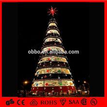 hot sale christmas decoration light motif huge Xmas tree CE/ROHS light cone xmas tree
