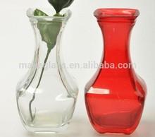 glass vase, clear glass vase,frosted glass vase,glassware