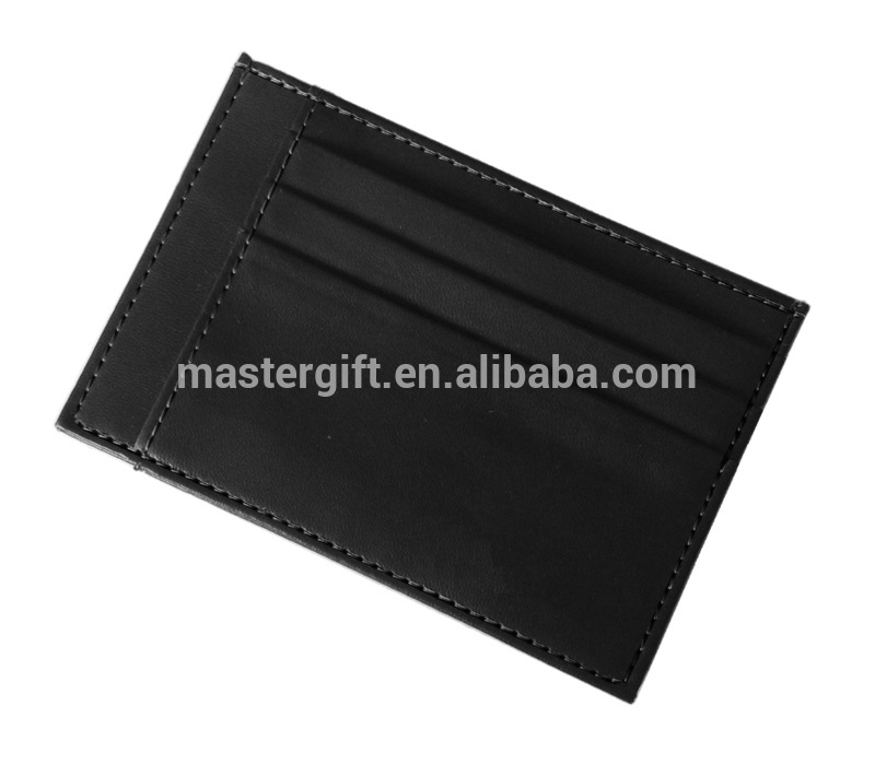 Hot selling style PU/Real genuine leather business card holder, card wallet / credit card purse, pouch, cardholder