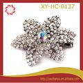 moda dekoratif elmas çiçek saç tokası