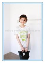fashion girl t shirts printed designs garment factory,eco-friendly tee shirt