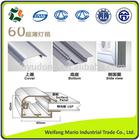 picture frame aluminium profile