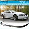 FOR 99-04 FORD MUSTANG GT SVT V6/V8 OE STYLE FRONT BUMPER LIP SPOILER PU BODY KITS