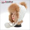 2014 Fashionable Warm Winter Ear Caps For Girls