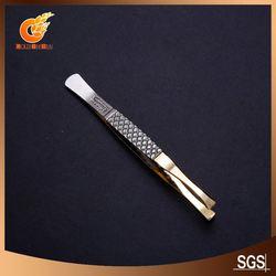 Practicablereplacement head stainless tweezers(ET12835)