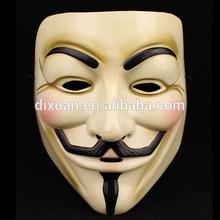 Salable Custom Masquerade V For Vendetta Mask
