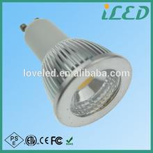 Innovative chinese LED residential lighting 5.5w gu10 led bulb 550 lumen 2700~3500k warm white