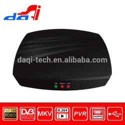 Mini Digital DVB-T DVB-T2 H.264 Scart TV terrestrial receiver HD/SD