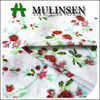 Mulinsen Textile High Quality Woven Cotton Rose print Dress Fabric