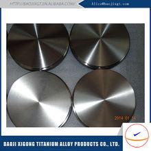 Direct Manufacturer titanium metal target