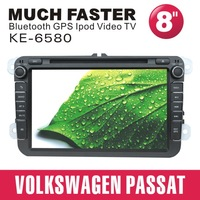 touch screen vw passat double din car dvd with gps bluetooth ipod usb sd tv rear camera