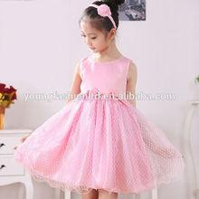 Fancy design toddler frozen dress chiffon girls kids clothes 2014