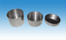 Tantalum capacitor case capacitor lid with with Glass-to-Tantalum Hermetic Seal