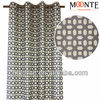 Updated Geometric Printing indian fabric wholesale window Curtains