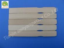 disposable with logo branding wooden paint stir sticks