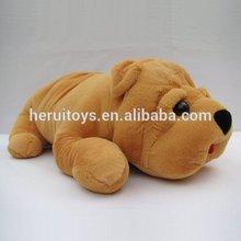 60cm little yellow cute stuffed animals plush dog toy&baby plush toy