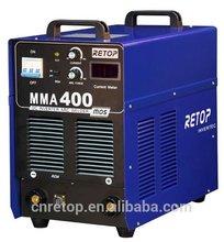 mma 400 igbt dc arc inverter welding machine