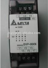 new DVP08XN11R PLC 8DO relay output Digital Module Original brand