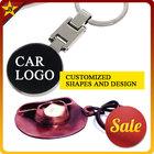 Zinc Alloy CowBoy Hat Motor Car Key Chain Waterproof Keyfob