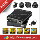 4 Channles HDVR004GW 3G, WIFI 1080P Car Video Recorder for taxi and school bus Vehicle Monitoring System