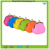 2014 Candy color bulk wholesale silicone coin purse/silicone coin wallet pochi purse