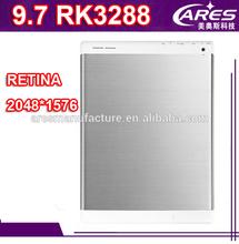 10.1 inch RK3288 Rockchip tablet pc 10 inch/9.7 inch quad core RK3288 tablet pc Retina 2048*1536 (Retina 1900*1200 IPS)