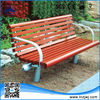 2014 Hot sale outdoor furniture leisure bench wooden garden chair