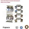 Kapaco Brake calipers repair kit for Mitsubishi Pajero Space Outlander V43 V44 V45 V46 N84W CU2W CU4W CU5W MR389628 MR389599