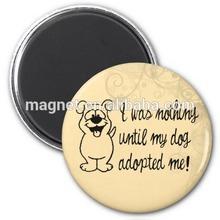 2014 dog adoption fridge magnet