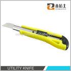 Promotional cutter knife, 18mm blade cutter knife, PP handle cutter knife